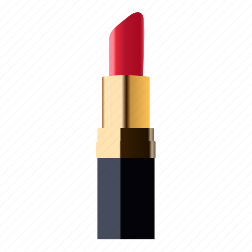 cosmetics, lipstick, make up, rossetto, rouge icon