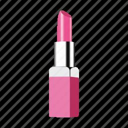 cosmetics, lipstick, make up, pink icon