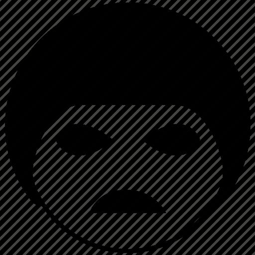 avatar, emotion, face, sad, sorrowful icon