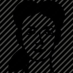 avatar, beauty, face, female, head, look, skin icon