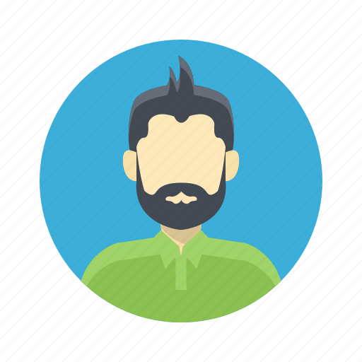 avatar, beard, boy, casual, character, handsome, male, man, moustache, person, portrait, team member, testimonial, user icon