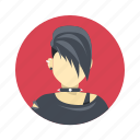 avatar, band, boy, character, customer, gothic, hard rock, male, man, mascot, metal, music, people, person, punk, team, team member, testimonial, user icon