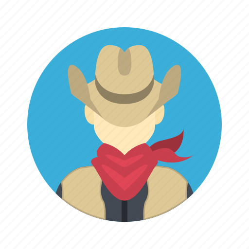 avatar, boy, character, cowboy, customer, far west, handsome, hat, male, man, people, person, team, team member, testimonial, texas, user icon