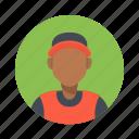 african, avatar, basketball, boy, character, customer, handsome, hip hop, male, man, mascot, people, person, rap, sport, team, team member, testimonial, user icon