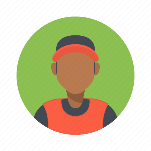 african, avatar, basketball, boy, character, customer, handsome, hip hop, male, man, mascot, people, person, rap, sport, team, team member, testimonial, user icon