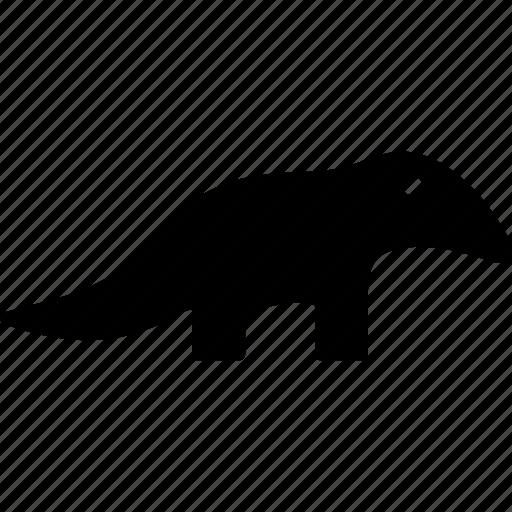 Ant bear, silky anteater, anteater, tamandua icon