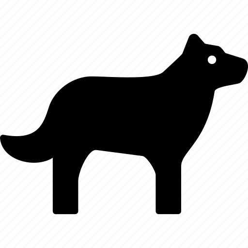 dog, hound, pet icon