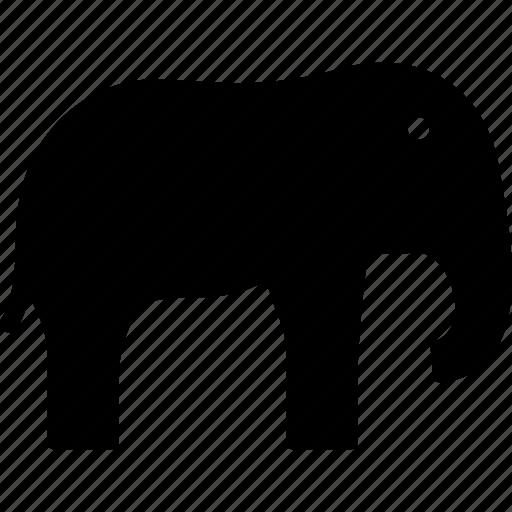african, animal, elephant, mammoth icon
