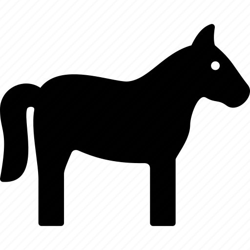 animal, horse, mustang, pony icon
