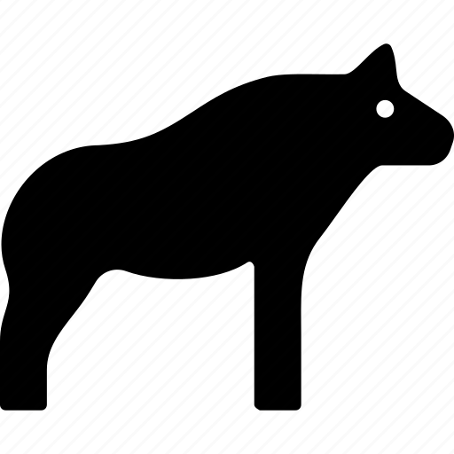 african, animal, hyena, wild icon