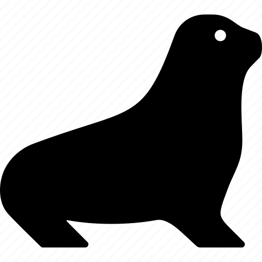 animal, marine, pinniped, seal icon
