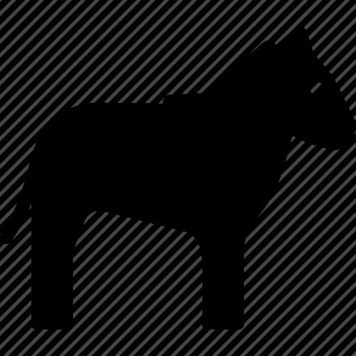 african, animal, horse, striped, zebra icon