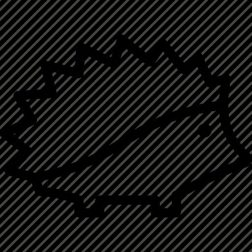 Porcupine, hedgehog, animal, spike icon - Download
