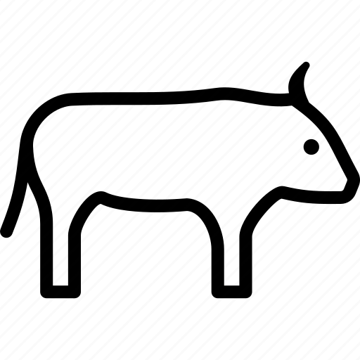 buffalo, bull, bullock, ox icon