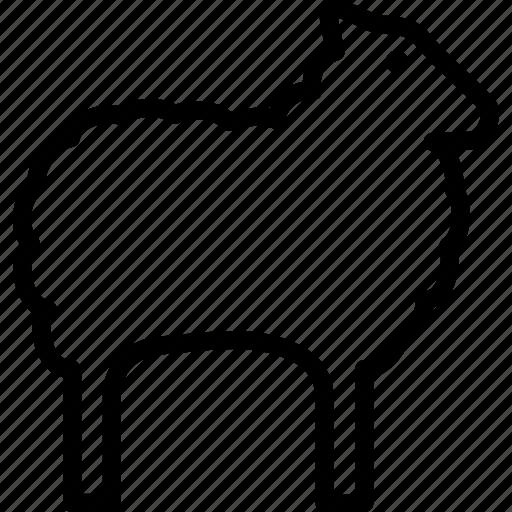 animal, ewe, farm, sheep icon