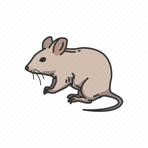 Animals, barn mouse, mammal, mouse, rat, rodent icon - Download on Iconfinder