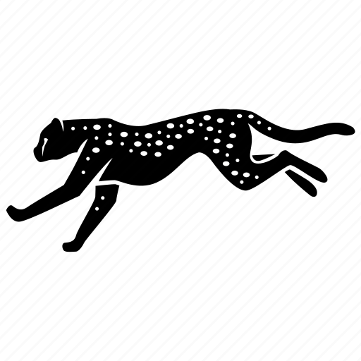 acceleration, cheetah, fast, hunter, predator, speed, sprint icon