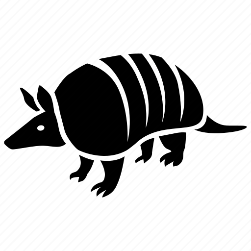 animal, armadillo, armored, banded, mammal, southern, zoo icon