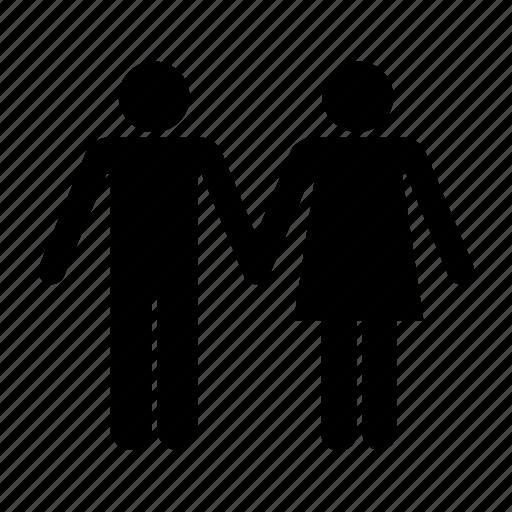 boyfrend, couple, friends, friendship, girlfrend, man, relationship icon