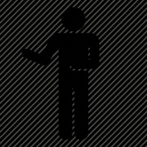fear, human, male, man, men, people, person icon