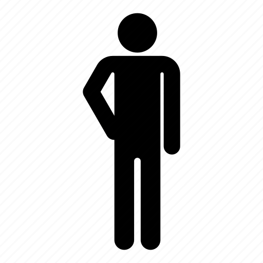 hand-hips, man, men, person icon
