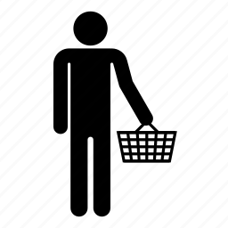 bag, buyer, man, men, shop, shopping icon