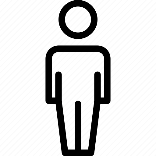 Human, male, man, people, person, user icon - Download on Iconfinder