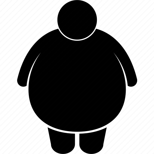 body, different, fat, huge, man, obesity, type icon