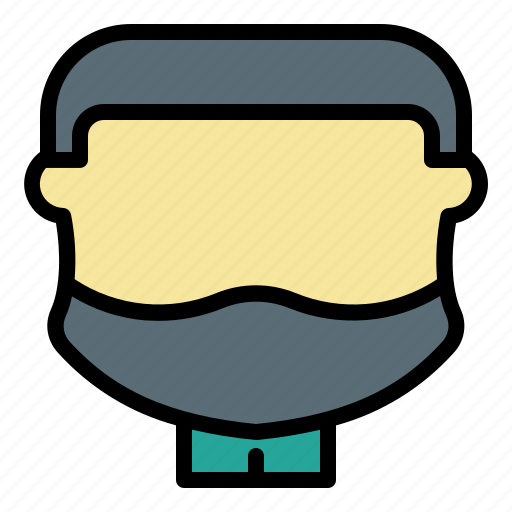 Avatar, beard, face, goatee, male, man, user icon - Download on Iconfinder