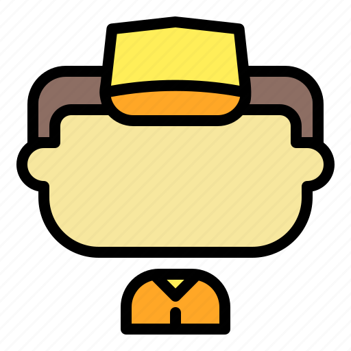 Avatar, face, hat, male, man, user icon - Download on Iconfinder