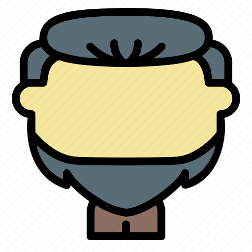 Avatar, beard, dutch, face, man, old, user icon - Download on Iconfinder