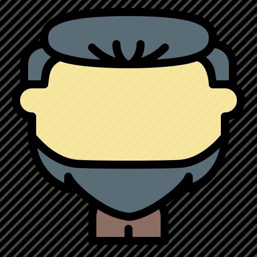avatar, beard, dutch, face, man, old, user icon