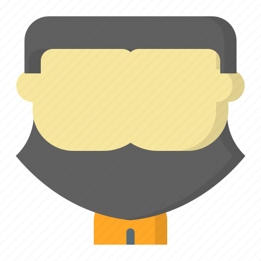 Avatar, axe, battle, face, male, man, user icon - Download on Iconfinder