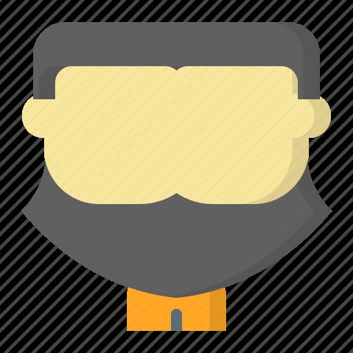 avatar, axe, battle, face, male, man, user icon