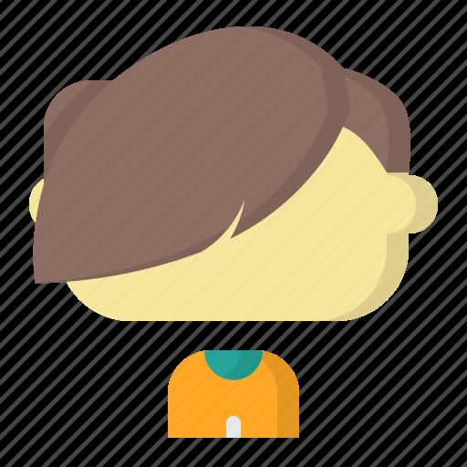 Avatar, emoji, face, fringe, male, man, user icon - Download on Iconfinder