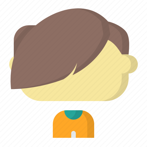 avatar, emoji, face, fringe, male, man, user icon