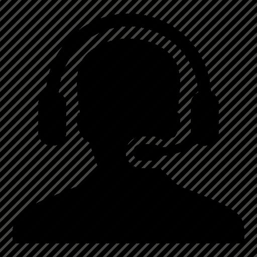 customer, helpline, man, online, person, service, support icon