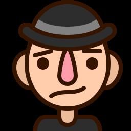 avatar, confused, emoji, emoticon, foxed, man, smiley icon