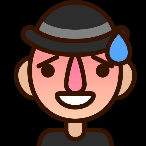 emoji, emoticon, man, regretful, repentant, smiley, sorry icon
