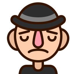 avatar, emoji, emoticon, man, sad, smiley, upset icon