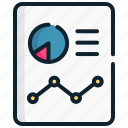 analytics, chart, growth, management, report, strategic icon