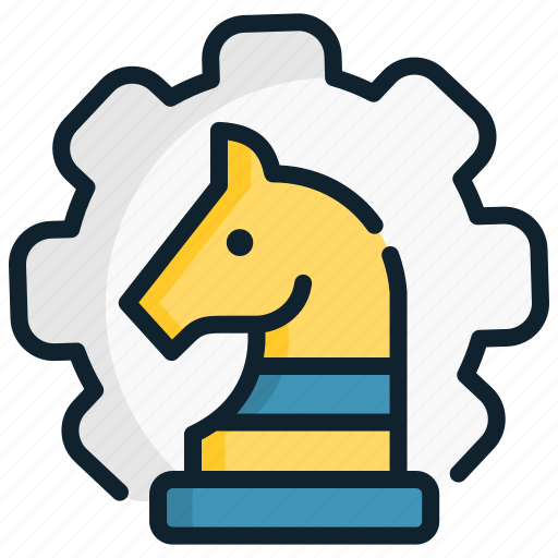 Configuration, gear, horse, management, set, strategic, strategy icon - Download on Iconfinder