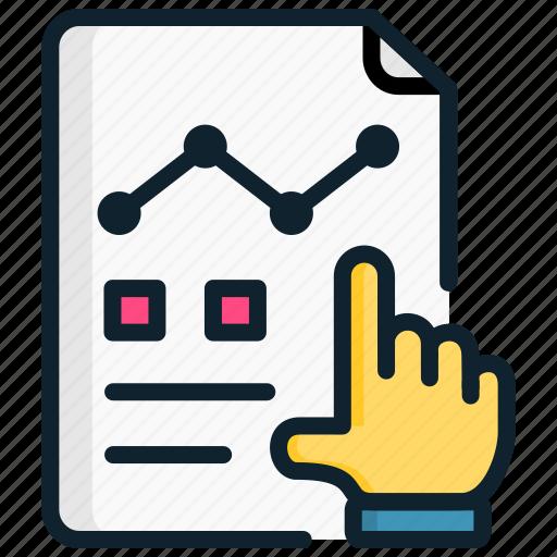 Analytics, briefing, chart, finance, management, showing, strategic icon - Download on Iconfinder