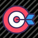 goal, objective, target, aim