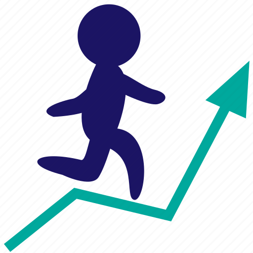 analytics, businessman, financial revenue, potencial, profit, resources, success icon