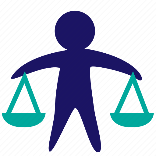 balance, business decision, businessman, justice, law, libra, weight icon