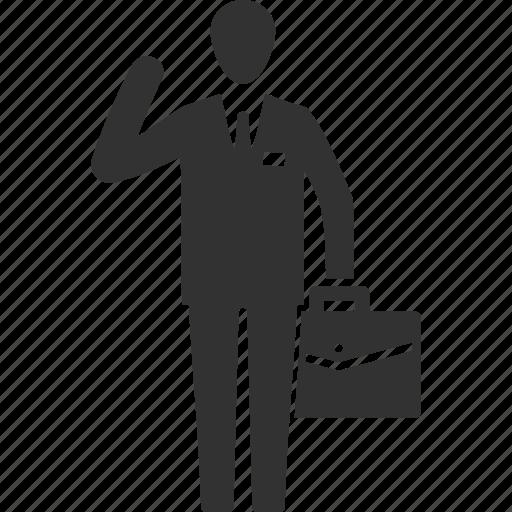 Briefcase, businessman, man icon | Icon search engine