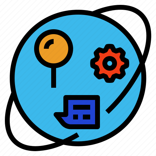 cognitive, information, knowledge, learning, study icon