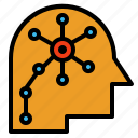 nerve, nervous, network, neural, neurons, system icon