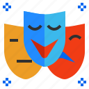 behavior, emotion, felling, mask, mood, role icon